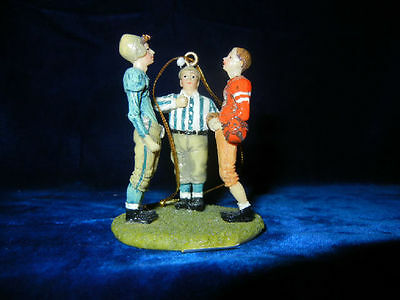 Norman Rockwell * The Coin Toss * Classic Ornament Collection  * Rare *