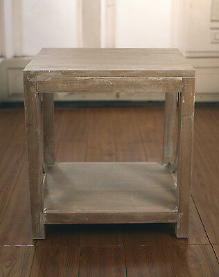 Ex-Display French Provincial White Wash Lamp Table Side Tables Bedside Tables