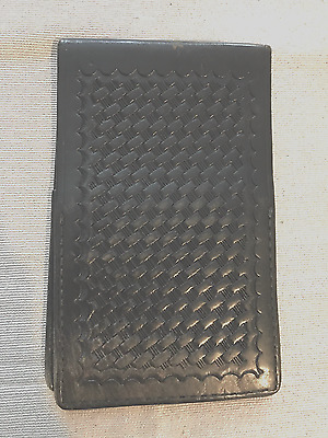Leather Pocket Notebook Cover