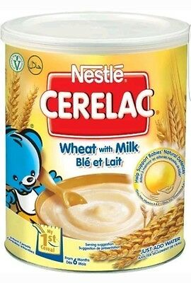 Nestle Cerelac Wheat with Milk 400g . P& P UK Fast Delivery