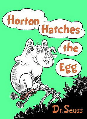 Horton Hatches the Egg Book by Dr. Seuss