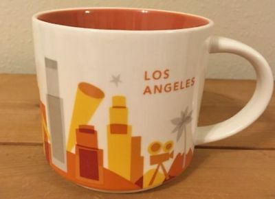 Starbucks Los Angeles You Are Here Coffee Mug Cup YAH Collection NEW