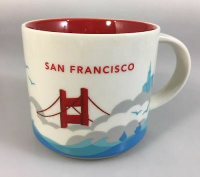 Starbucks San Francisco You Are Here Coffee Mug Cup YAH Collection NEW