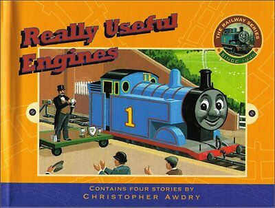 Thomas The Tank Engine Really Useful Engines Hardcover Book (Railway Series)