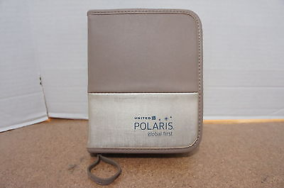 ‡ NEW and RARE United Airlines Polaris Global First Class Toiletries Amenity Kit