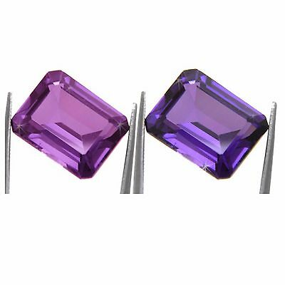 1.81 Carat Color Change Created Alexandrite, Pink To Violet Loose Gemstone