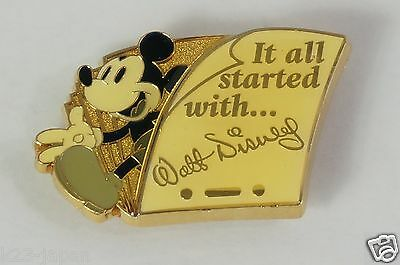 Tokyo Disney Resort Event Clip TDS Walt Says It all Started With Not For Sale