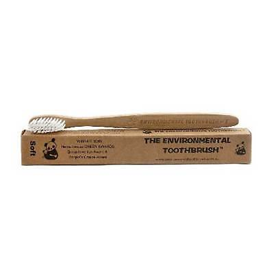 The Environmental Bamboo Toothbrush Soft Bristle | BRAND NEW