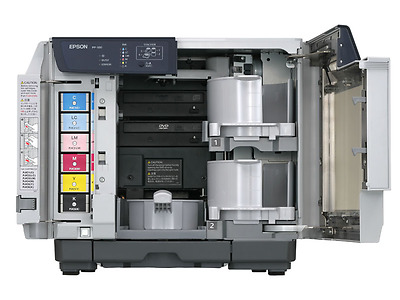 Epson Discproducer PP-100 Publisher. 100 disc capacity