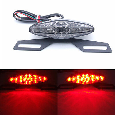 Moto Feu arrière Clignotants LED Phare Freinage Signal Stop Lampe Pour Harley