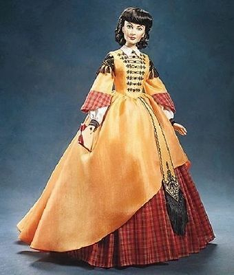 poupée doll franklin mint Scarlet O'Hara portrait  officielle Vinyl neuf