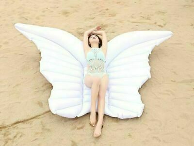 Giant Inflatable Swan Pool Float. Beach or swimming pool Swan Lilo 190cm x190cm