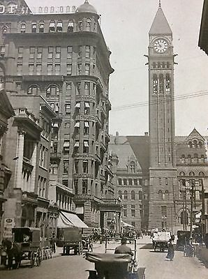 Antique Rppc Independent Order Of Foresters Temple And City Hall Toronto Canada