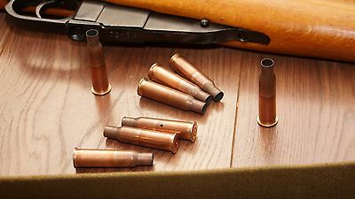 Dragunov / Mosin Nagant Used Bullet Cases 7.62X54R Great For Projects 10 Pack