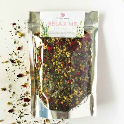 The Physic Garden Relax Me Bath Salts (300g) | BRAND NEW