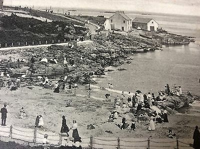 Antique Pc View Of The Ladies Bathing Place Portrush County Antrim Nth Ireland