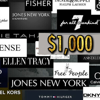 $1,000 Wholesale Lot Women's Brand Name Designer Clothing, Shoes, Handbags