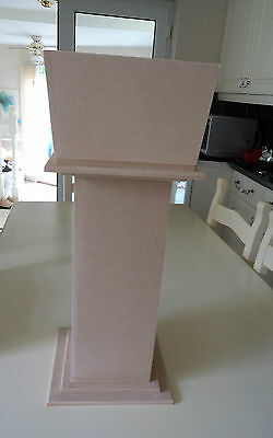 Made to Order 9mm Mdf Pillars inc. Mdf Planter -  Ideal Display Stands
