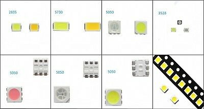 5050 2835 5730 Multi-Color Emitting Diode White/Red/Blue/Green/RGB SMD SMT LED