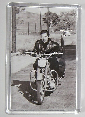 Roustabout Elvis Presley Leif Erickson movie poster fridge magnet Keyring New