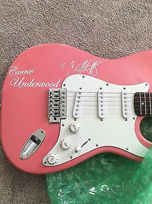 Carrie Underwood- signed guitar