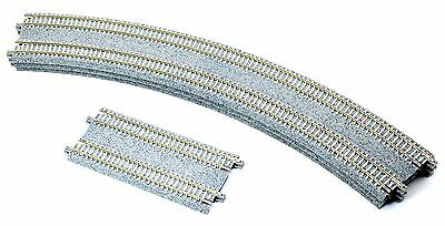 Assorted N Gauge Kato Unitrack Double Track Pieces 4S