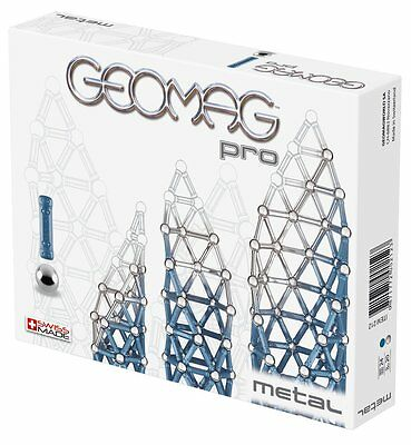 Geomag PRO Metal Building Kit (44-Piece)