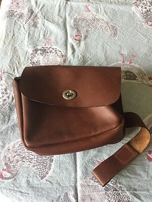 Hunting Leather Saddle Bag/pouch