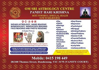 Om Sri Astrology Centre, Astrologer In Dandenong, Melbourne, Victoria