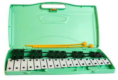 ANGEL - Chromatic GLOCKENSPIEL in case. 27 steel bars.