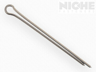 Cotter Pin 3/32 x 1-1/2 300 Series Stainless Steel  (100 Pieces)