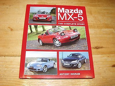 Book - Mazda MX-5  - The Complete Story by Anthony Ingram