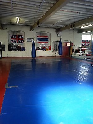 Crash  Mats £100.00A Set Of 8 Free Postage  Delivery, Black , Grey , MMA JUDO