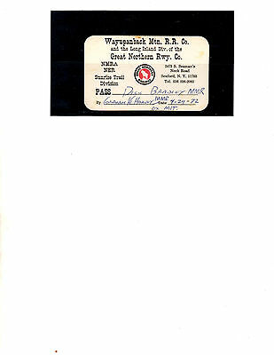 Great Northern Railway Co.  Pass (Item 0022)
