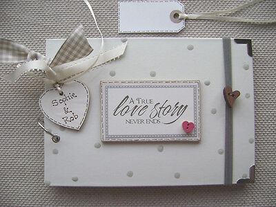 PERSONALISED.. LOVE STORY..  A5 SIZE.30 pages  PHOTO ALBUM/SCRAPBOOK/MEMORY BOOK