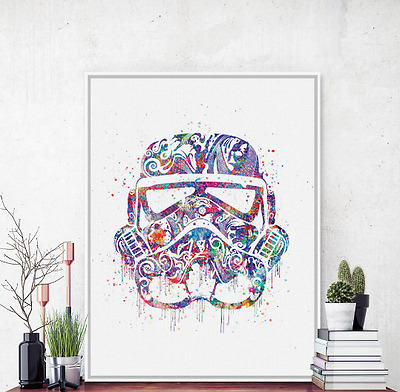 Unframed Stormtrooper Star Wars Wall Art Canvas Poster Picture Prints Home Decor