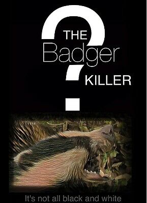The Badger Killer?A book about Bovine TB, Badgers, British wildlife, Nature