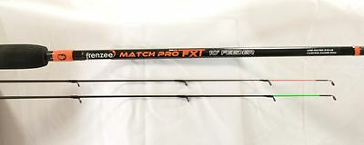 NEW Frenzee Match Pro FXT 11ft Feeder Rod All Black Commercial Match Fishing