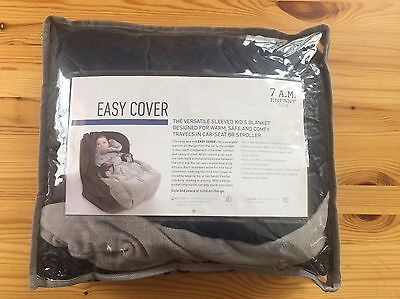 7AM Enfant Nido,Blue,  Easy Cover Bunting Bag, Quilted, Large 3-6 years: New