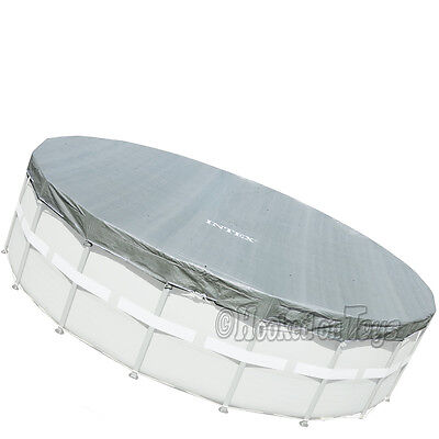 Intex 18' foot Round Deluxe Pool Debris Cover for Metal Frame Pool - 28041