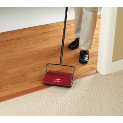 Bissell Cordless Floor Push Roller Brush Swift Sweeper Carpet Vacuum 2201B NEW