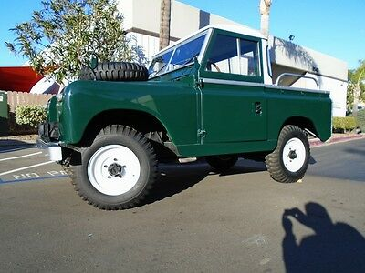 1967 Land Rover Other Series IIA 88 LHD 1967 Land Rover Series IIA LHD 88: Restored, Pick Up Version Super Rare