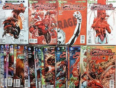 Red Lanterns #0 to #40 complete series New 52 (2011 DC)