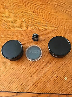 Yashica Lens, Pair Of Yashicor Y210, Tele Wide Finder, 808 55mm Filter