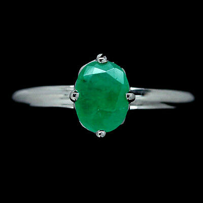 Emerald ring size 8.5