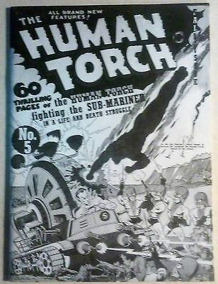 Flashback #2 : Reprint of The Human Torch #5 (1941) Dynapubs VF Condition!