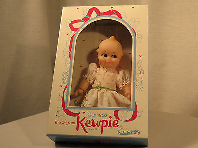 Vintage Jesco Cameo Kewpie Doll Girl in Original Unopened Box NOS New Old Stock