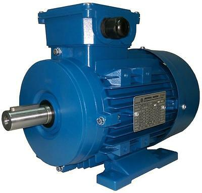 Electric Motor 0.75KW 1000RPM 6Pole Foot Mount B3 3 Phase