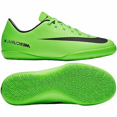 969cf984c Nike Mercurial X Vapor XI IC Indoor Soccer SHOES 2017 Ghost Green Kids Youth