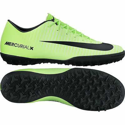 17fd3667a59 Nike Mercurial Victory VI TF Turf 2017 Soccer Shoes New Ghost Green - Black